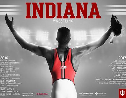 IU Athletics' Posters