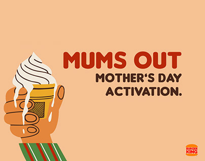 Burger King | Mother's Day.