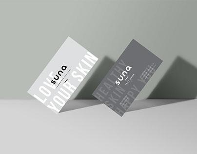 Suna Skin Care Rebranding