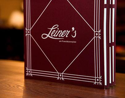 Café Leiner's _ Corporate Design