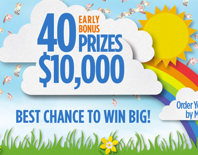 Canadian Cancer Society Lottery Site Design