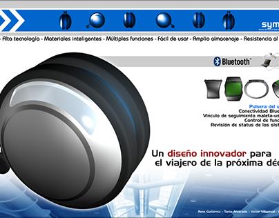 Autonomous luggage concept (2005)