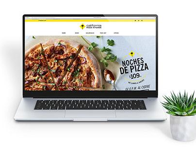 California Pizza Kitchen Sitio web