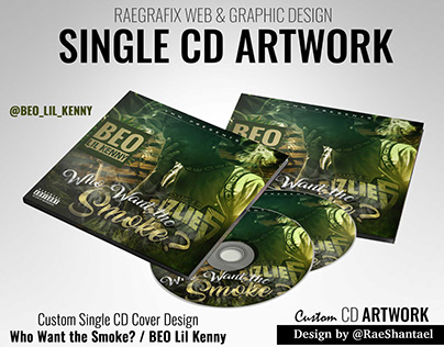 Single CD Artwork - BEO Lil Kenny