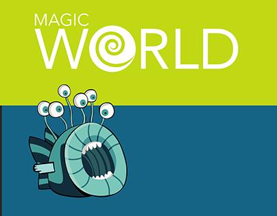 MAGIC WORLD board game