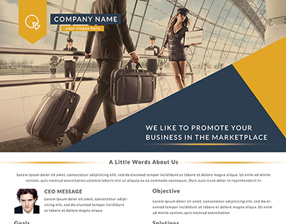 Multipurpose Corporate Business Flyer