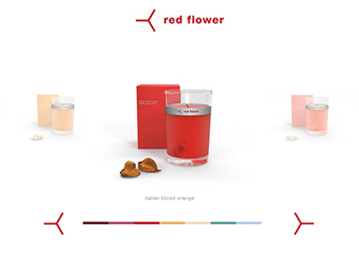 Red Flower Product Interface