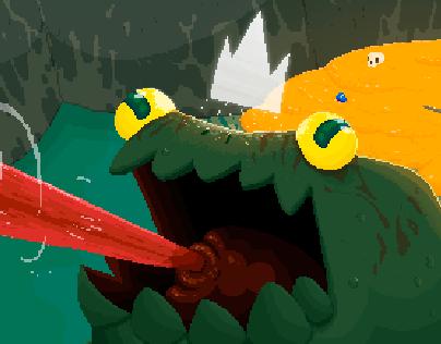 Toad King / Pixel Art