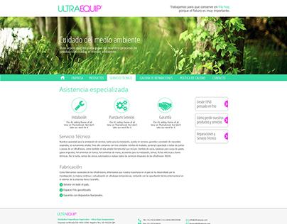 Web Site ULTRAEQUIP