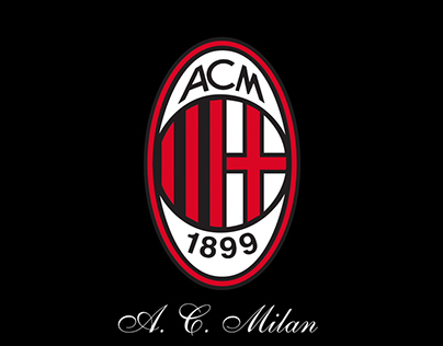 A C Milan Projects Photos Videos Logos Illustrations And Branding On Behance