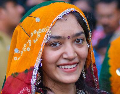 Beauties in Onam Festival