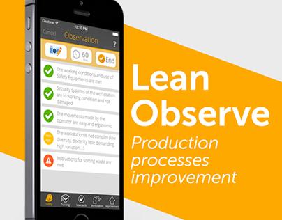 Lean Observe App
