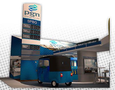 exhibition booth for PGN
