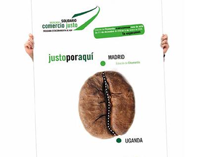 Campaña desde alfaro&berango para Intermon Oxfan y Adif