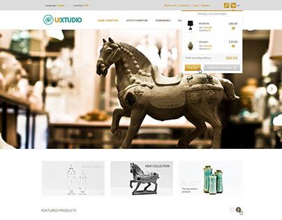 Homeware Online store