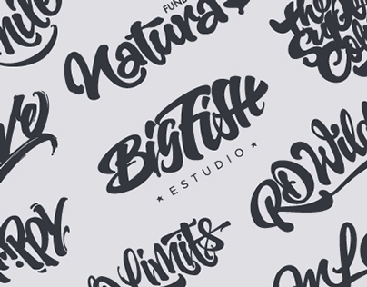 Brushpen Lettering set 04