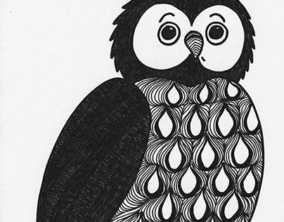 animal winter / drawing book ///