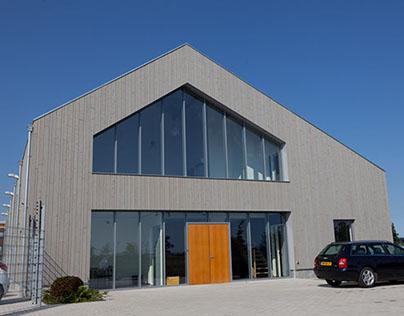 Bedrijfspanden Houterman Autosleepdienst Oosterhout