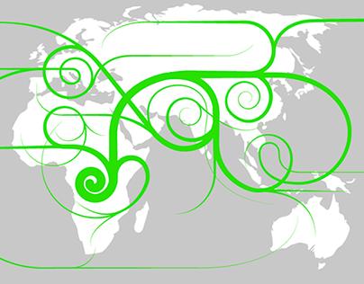 EARTH PEOPLING MAP