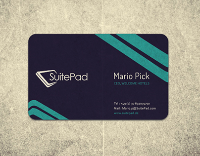 SuitePad - Business Card