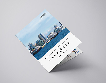 Port of Land and See - Four page brochure