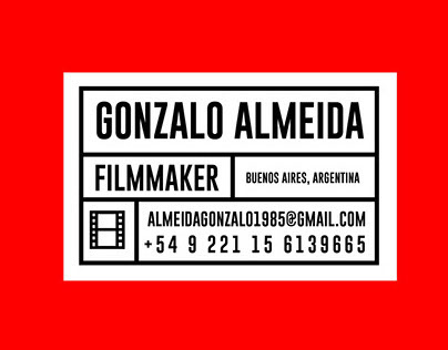 Branding Gonzalo Almeida