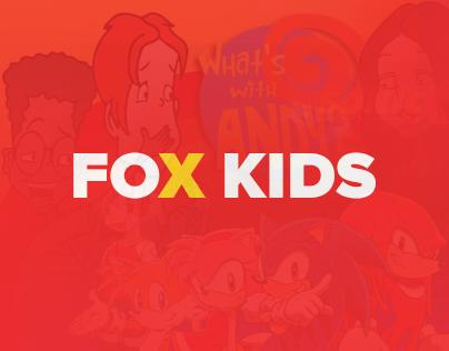 FOX KIDS Project UI/UX Design