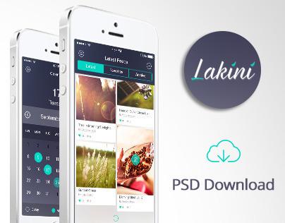 Lakini App UI/UX Design