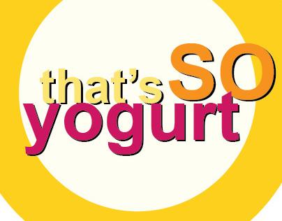 That's So Yogurt