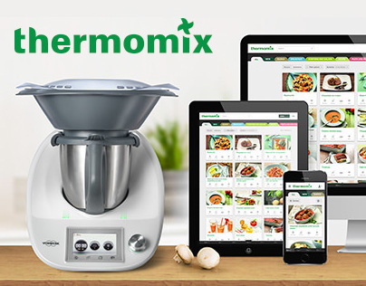 Thermomix Recipe Platform: Responsive Website