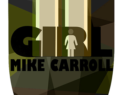 3D Girl deck Mike Carroll
