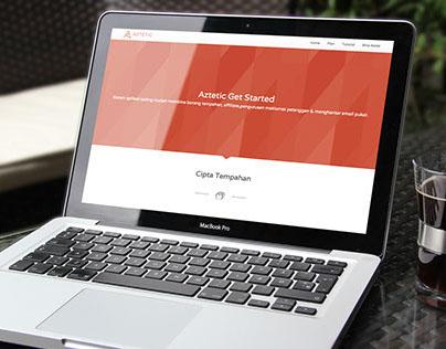 Get Started Aztetic's Website