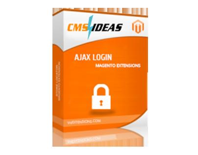 Magento Ajax Login Extension