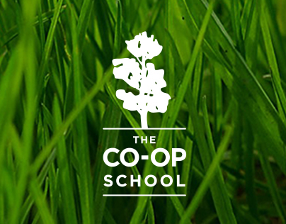 The Co-op School Identity and Website