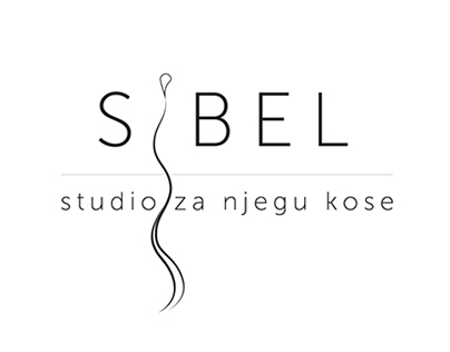 "Branding for ""Sibel"" Hair Studio in Zagreb"