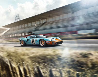 Race Classics   Ford GT40 - CGI