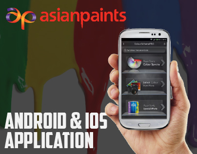 Asian Paints - Android and iOs App