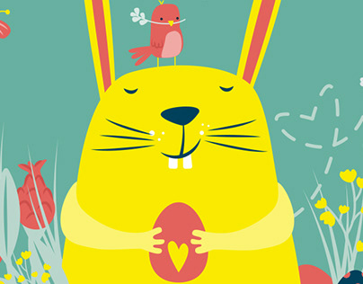 Easter Greetings // Illustration