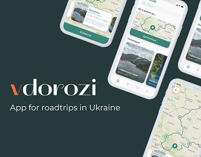 App for roadtrips