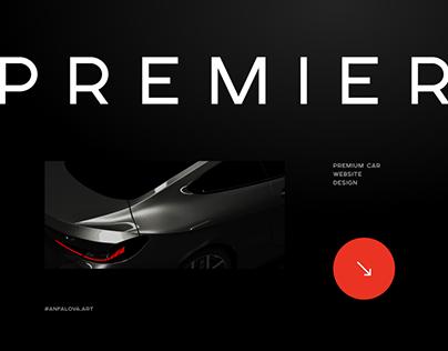 Premier cars corporate site