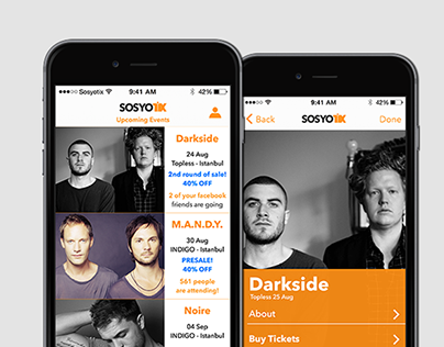 Service and Interaction Design for Ticket Suppliers