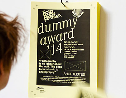 FotoBookFestival, Dummy Award 2014. Photo España