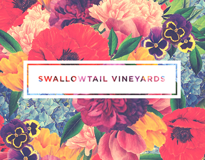 """Swallowtail Vineyards"" Identity + Packaging"