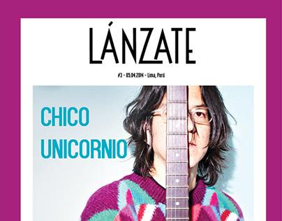 Revista LÁNZATE-  lado A - B