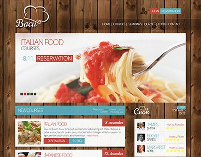 Bacu - website