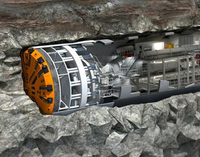 ixtract | tunnel boring machine TBM