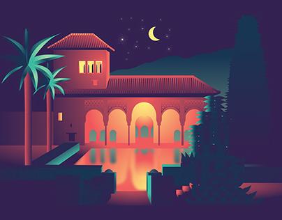 Andalusia At Night #1