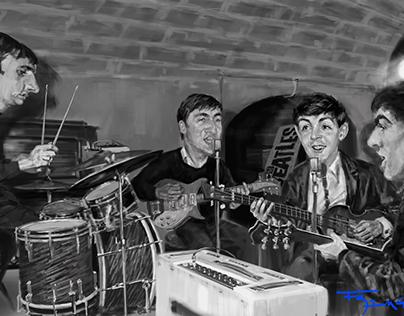 The Beatles - Ensayo en El Cavern con nuevo batero.