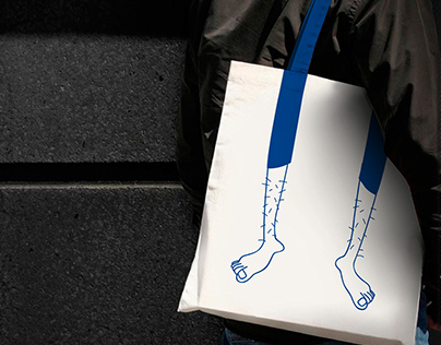 illustration on shopping bag