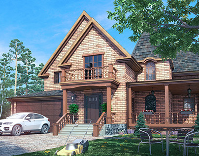 Cottage design and visualization